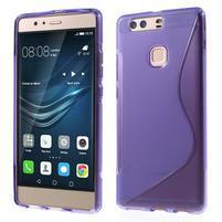 S-line gelový obal na Huawei P9 Plus - fialový