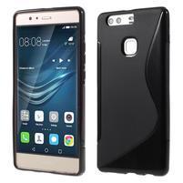 S-line gelový obal na Huawei P9 Plus - černý
