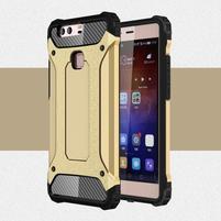 Armory odolný obal na Huawei P9 Plus - zlatý