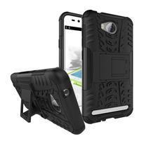 Outdoor odolný obal na mobil Huawei Y3 II - černý
