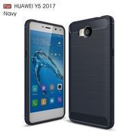 Carbo odolný obal na mobil Huawei Y6 (2017) - tmavěmodrý