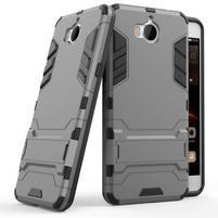Defender odolný obal na Huawei Y6 (2017) - šedý