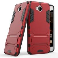 Defender odolný obal na Huawei Y6 (2017) - červený