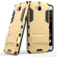 Defender odolný obal na Huawei Y6 (2017) - zlatý