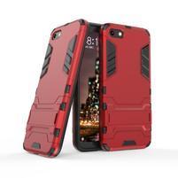 Kick odolný hybridní kryt na mobil Huawei Y5 (2018) - červený
