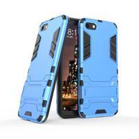 Kick odolný hybridní kryt na mobil Huawei Y5 (2018) - modrý