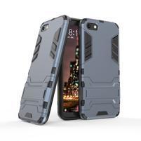 Kick odolný hybridní kryt na mobil Huawei Y5 (2018) - tmavěmodrý