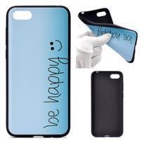 Color gelový obal na mobil Huawei Y5 (2018) a Honor 7s - be happy