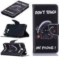 Patty peněženkové pouzdro na mobil Huawei Y5 II - monster