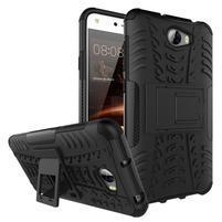 Outdoor odolný obal na mobil Huawei Y5 II - černý