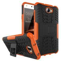 Outdoor odolný obal na mobil Huawei Y5 II - oranžový