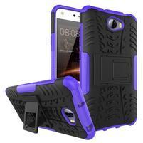 Outdoor odolný obal na mobil Huawei Y5 II - fialový