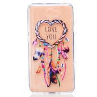 Emboss gelový obal na mobil Huawei Y5 II - lapač snů