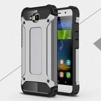 Armory odolný obal na Huawei Y6 Pro - šedý