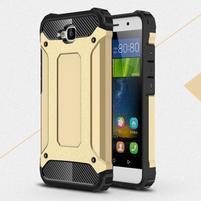 Armory odolný obal na Huawei Y6 Pro - zlatý