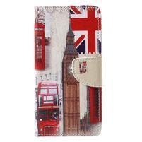 Emotive zapínacie knižkové puzdro na Huawei Y7 - London