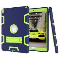 Kickdefend odolný obal na iPad Pro 10.5 - tmavěmodrý/zelený