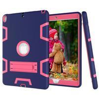 Kickdefend odolný obal na iPad Pro 10.5 - tmavěmodrý/rose