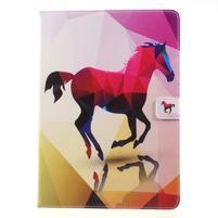Patty zapínací pouzdro na iPad Pro 10.5 - kůň