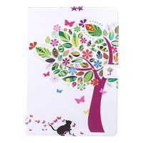 Patty zapínací pouzdro na iPad Pro 10.5 - barevný strom