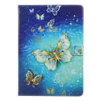 Patty zapínací pouzdro na iPad Pro 10.5 - zlatý motýl