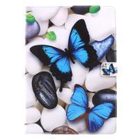 Patty zapínací pouzdro na iPad Pro 10.5 - modrý motýlek