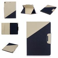 Duocolory PU kožené pouzdro na iPad Pro 10.5 - zlaté