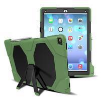 Extreme odolný obal se stojánkem na iPad Pro 12.9 - tmavězelený