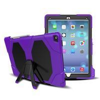 Extreme odolný obal se stojánkem na iPad Pro 12.9 - fialový
