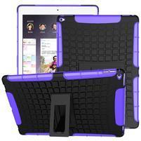 Outdoor odolný obal na iPad Pro 12.9 - fialový