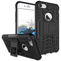 Outdoor odolný obal na mobil iPhone 7 - černý