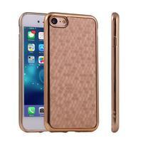 Luxury gelový obal na iPhone 8 a iPhone 7 - zlatý