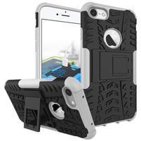 Outdoor odolný obal na mobil iPhone 7 - bílý
