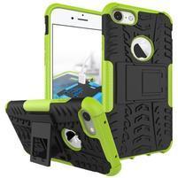 Outdoor odolný obal na mobil iPhone 7 - zelený