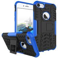 Outdoor odolný obal na mobil iPhone 7 - modrý