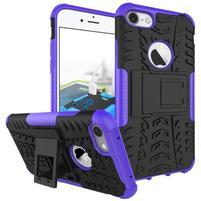 Outdoor odolný obal na mobil iPhone 7 - fialový