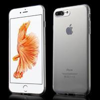 Ultratenký gelový obal na mobil iPhone 7 Plus - transparentní