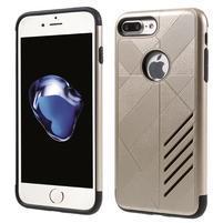 Armory odolný obal na mobil iPhone 7 Plus - zlaté