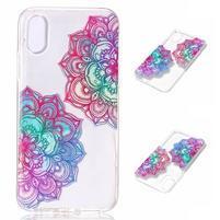 Bossi gelový obal na mobil iPhone X - lotus