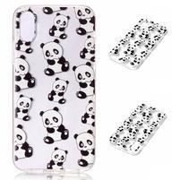 Bossi gelový obal na mobil iPhone X - panda