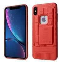 Soft gelový kryt pro iPhone XS Max - červený