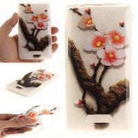 Printy gelový obal na mobil Lenovo A2010 - kvetoucí větvička
