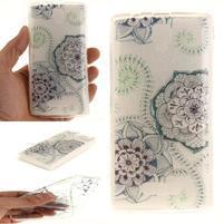 Printy gelový obal na mobil Lenovo A2010 - květy