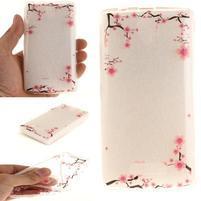 Printy gelový obal na mobil Lenovo A2010 - větvičky