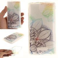 Printy gelový obal na mobil Lenovo A2010 - flower