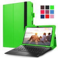 Litch PU kožené pouzdro na Lenovo Miix 310 - zelené
