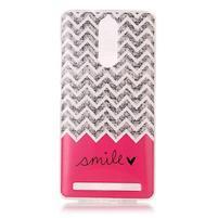Printy gelový obal na mobil Lenovo K5 Note - smile