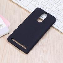 Matte gelový obal na Lenovo K5 Note - černý