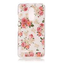 Colory gelový obal na mobil Lenovo K6 - květiny