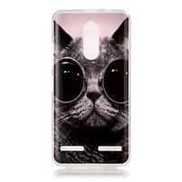 Colory gelový obal na mobil Lenovo K6 - kočka